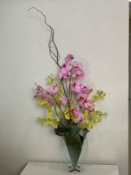 Flores emborrachadas para decoração