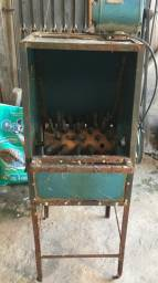 Máquina de depenar frango