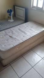 Colchão box mola com base