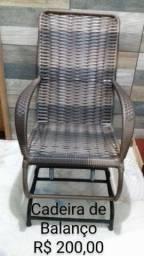 Lindas cadeiras de balanço