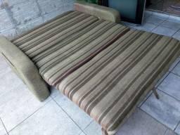 Sofa cama com baú