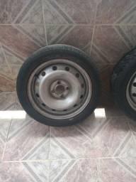 Rodas de ferro Aro 15 novas