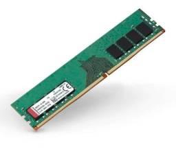 Memória Ddr4 2400 Mhz 8gb Kingston Desktop Kvr24n17s8/8 (NOVA)