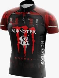 Roupa para Ciclismo Monster Preta Drite