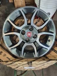 Rodas Fiat aro 15 Novas Palio Uno 147 Linea Strada Doblo  Siena Punto