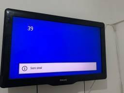 Tv 32 Philips não é smart+ conversor digital