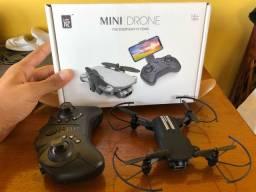 Mini drone na caixa