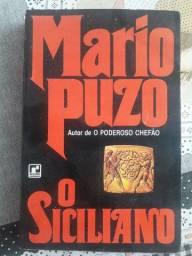 Livro O Siciliano de Mário Puzo