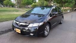 Honda Civic LXL 1.8 flex Automático, Bancos de couro