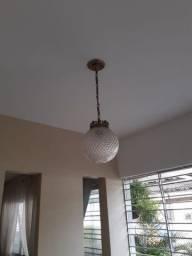Luminária estilo vintage com corrente em bronze