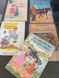 5 livros Coletânea Condessa de Ségur