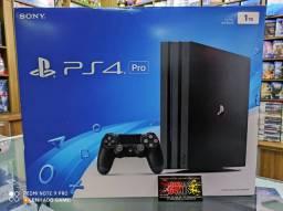 PS4 PRO SEMI NOVO ACEITO PS4 E XBOX ONE NA TROCA