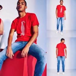 Camiseta estampada original da marca coca cola