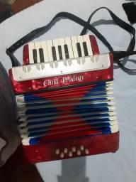 Mini acordeon infantil