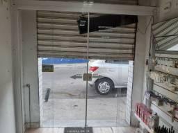 Fechamento de Blindex com portas de correr