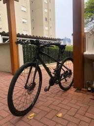 Bicicleta Sense Activ 2018 27V cinza/laranja