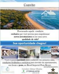 Seu apartamento em frente a praia em Porto Seguro