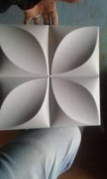 Placa de gesso 3d