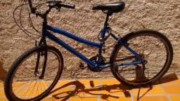 Bike azul metálico 21 marchas/Aro 26