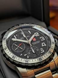 Relógio Victorinox Alpnach VSA Cronógrafo Automático