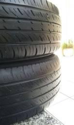 2 pneus 14 semi novos