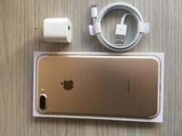 IPhone 7 Plus 128GB Dourado loja física