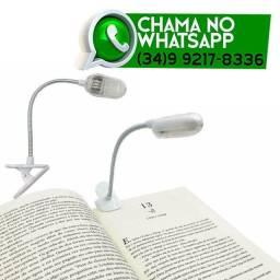 Luminária Presilha para Livro Cadernos Leitura * Entrega Grátis