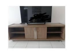 Rack de sala para TV de sala (sem detalhes, risco ou quebrado) novo