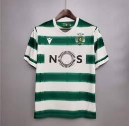 Uniforme Sporting Lisboa 2021