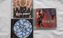 Jota Quest - Ivete - CD's originais