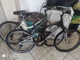 Bicicleta Caloi preta