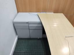 Armário mesa para escritório