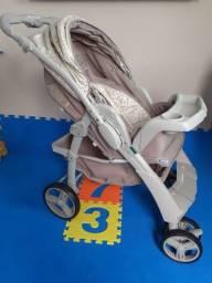 Carrinho de Bebê Galzerano 2 em 1 Berço-passeio