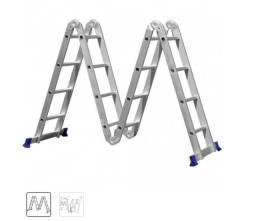Escada 4x4 articulada 16 degraus Mor