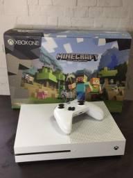Xbox one s 500gb muito novo