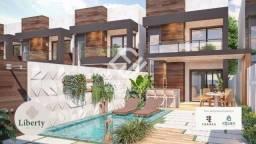 Casa linda e moderna em rua privativa, com 3 suítes- Eusébio