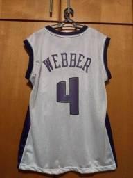 Camisa NBA Sacramento Kings - Chris Webber original