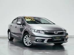 Honda Civic LXL 1.8 Flex Automático - Novo Demais - Revisado!!!