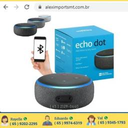 alex smart speaker echo dot comando de voz bluethoot