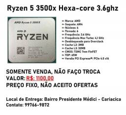 Amd Ryzen 5 3500x Hexa-core 3.6ghz (4.1ghz Turbo)