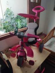 Triciclo de Passeio Smart Comfort - Rosa - Bandeirante