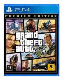 Vendo Jogo usado GTA 5 - Playstation 4
