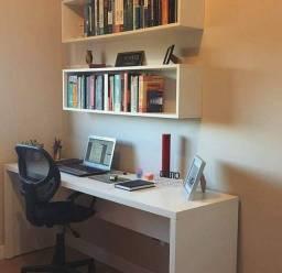 Combo Promocional: Escrivaninha (L 1.20 M) + Dois Nichos Grandes