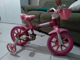 Bicicleta infantil Flower rosa