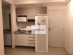 Apartamento com 1 dormitório para alugar, 37 m² por R$ 3.000,00/mês - Bela Vista - São Pau
