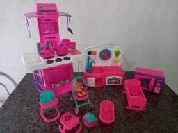 Kit de brinquedos para menina
