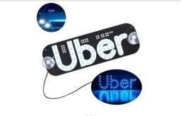 Placa luminosa Led para uber