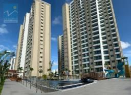 Apartamento com 2 dormitórios para alugar, 55 m² por R$ 1.800,00/mês - Fátima - Fortaleza/