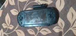 Psp usado bateria viciada e jogos