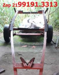 Carreta Semi-rodoviária leve e forte